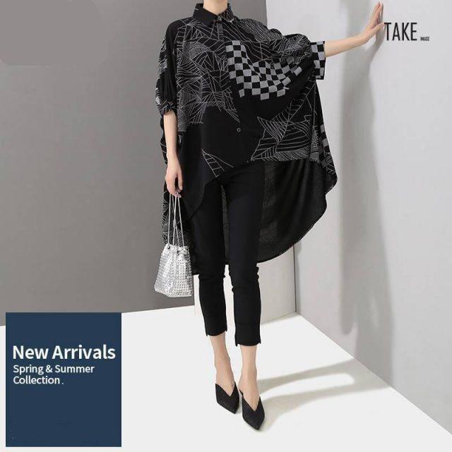 New Fashion Style Hipster Batwings Sleeve Blouse Fashion Nova Clothing TAKE IMAGE