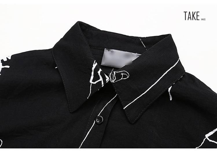 New Fashion Style Retro Ruffle Irregular Stripes Print Dress Fashion Nova Clothing