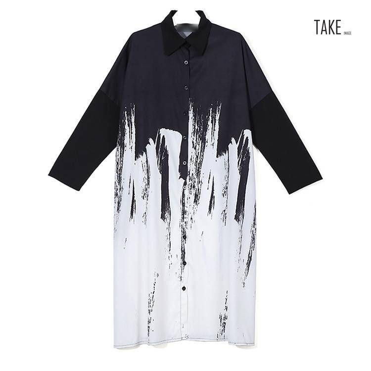 New Fashion Style Tie-Dyed Print Dress Fashion Nova Clothing
