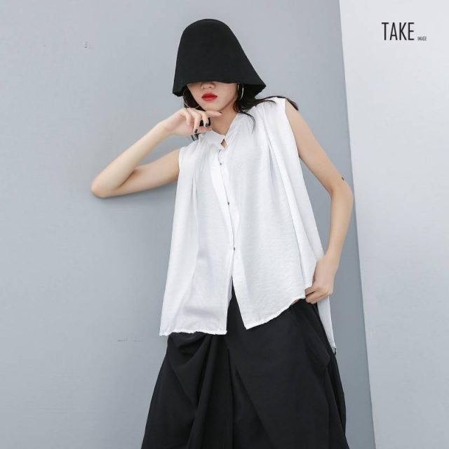 New Fashion Style Black Sleeveless With Sashes Summer Top Fashion Nova Clothing TAKE IMAGE