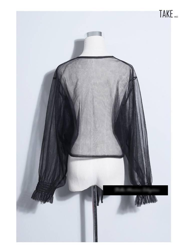 New Fashion Style Sexy Sheer Mesh Tops Fashion Nova Clothing