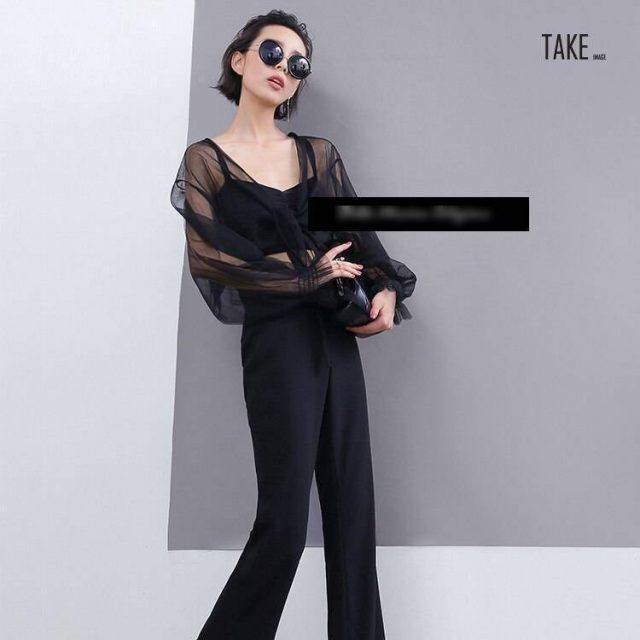 New Fashion Style Sexy Sheer Mesh Tops Fashion Nova Clothing TAKE IMAGE