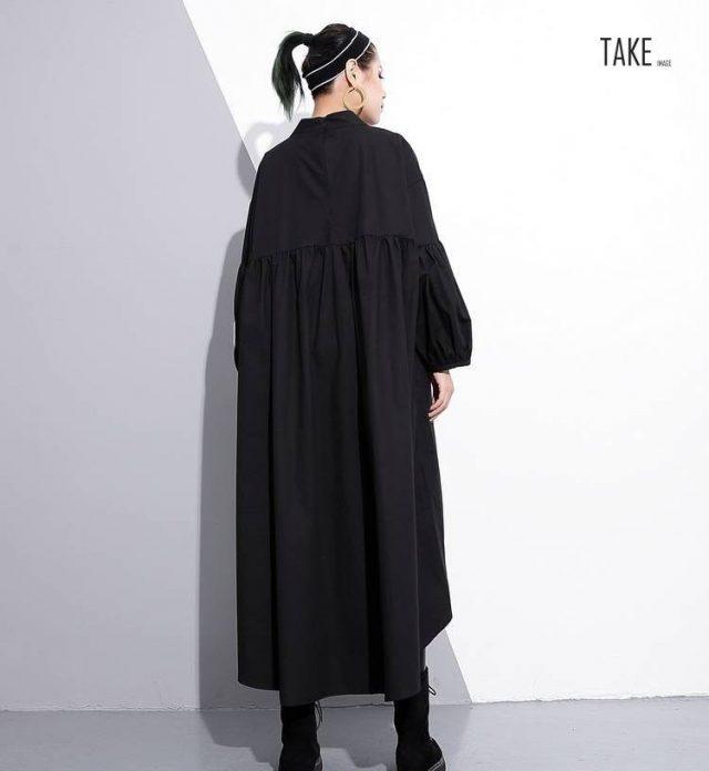 New Fashion Style Metal Ring Big Size Hollow Out Dress Fashion Nova Clothing TAKE IMAGE