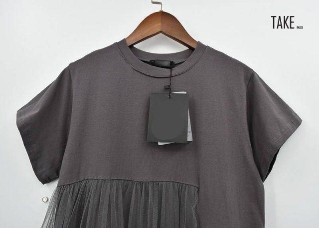 New Fashion Style Black Asymmetrical Mesh Split Joint Dress Fashion Nova Clothing TAKE IMAGE