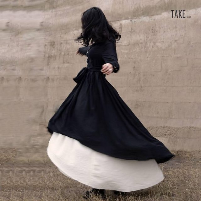 New Fashion Style Black Loose Hem Irregular Pleated Bandage Two Piece Dress Fashion Nova Clothing TAKE IMAGE